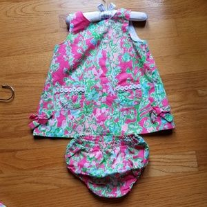 Lilly Pulitzer baby shift dress Southern Charm